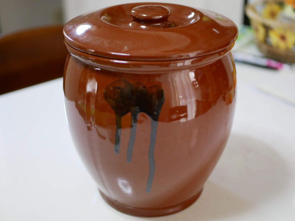 陶器のカメ