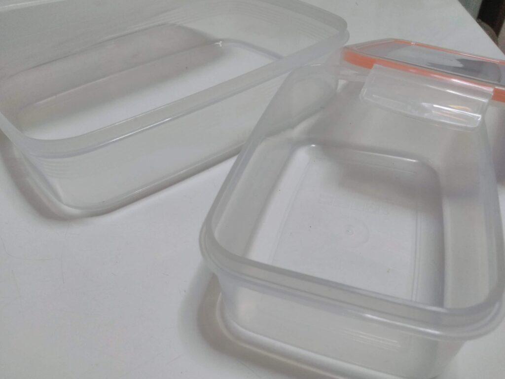 ぬか漬けに使うプラスティック容器