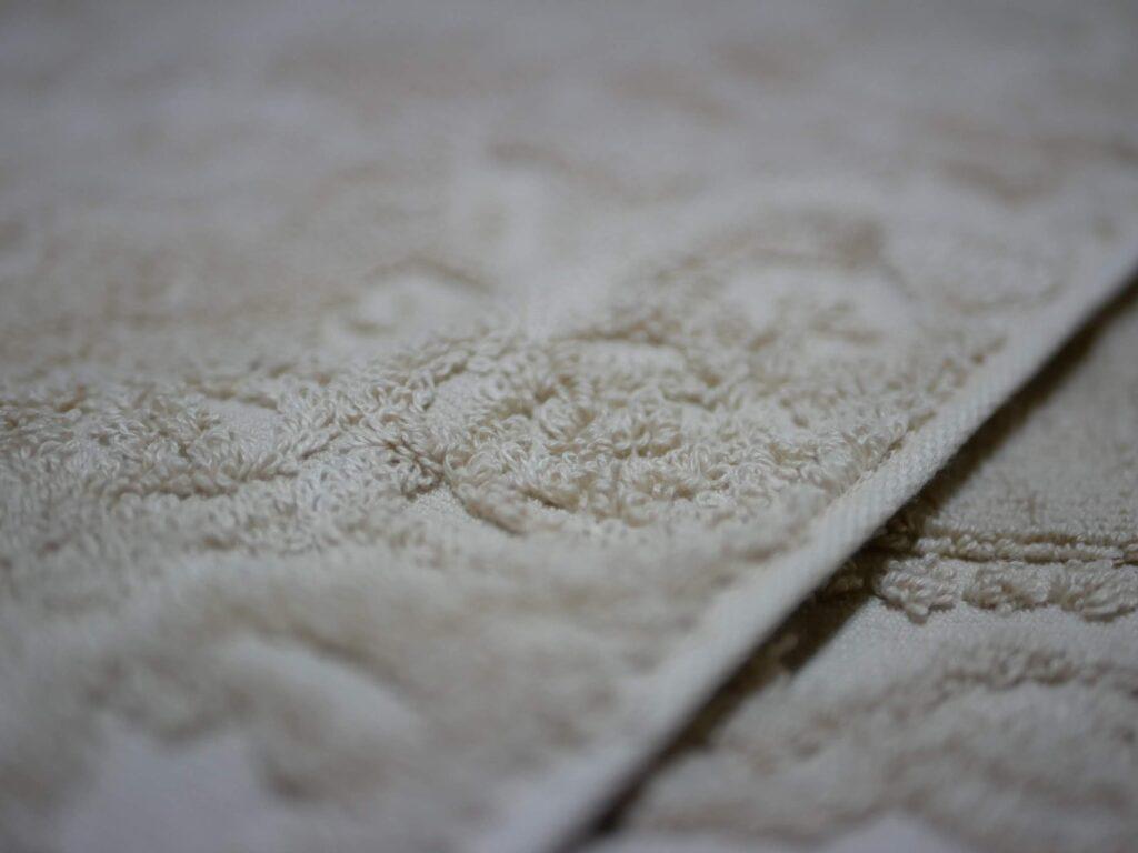 やわらかい水と綿のコラボレーション