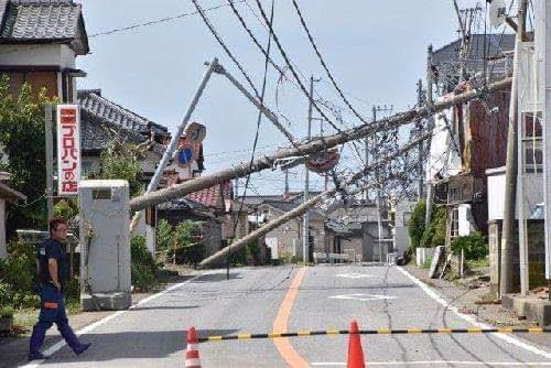 2019年9月 台風15号の被害 千葉県内全域に及ぶ停電が発生