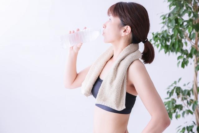 運動する前に飲むといいです。