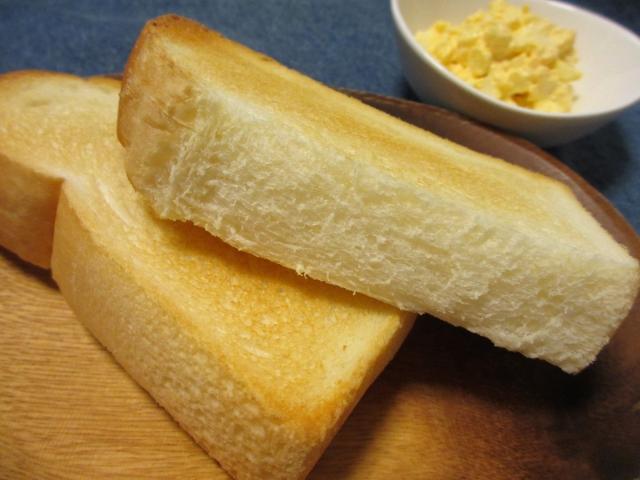 厚切りトーストのイメージ